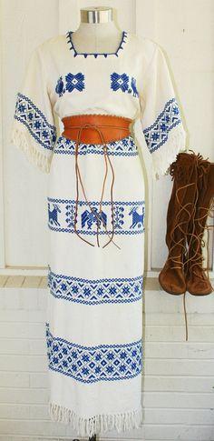 Bidi Bidi Bom Bom  Vintage Mexican   Kaftan  Hippie by CallMeChula, $85.00