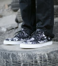 Nike Sb Janoski Floral Black