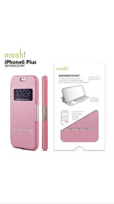 "Moshi Sensecover Touch Sensitive Flip Case for iPhone 6 Plus 5 5"" Sense Cover TM | eBay"