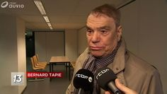 Actu : Bernard Tapie atteint dun cancer : Il apparaît très affaibli par la maladie (Photos)