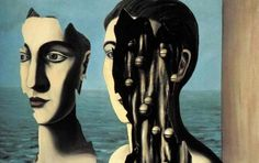 rené magritte - the double secret/le double secret, 1927 [surrealism - surrealist paris years - symbolic painting] are we real? when are we real? why do we wear masks? Rene Magritte, Artist Magritte, Paul Gauguin, What Is Surrealism, Surrealism Painting, Magritte Paintings, James Ensor, Le Double, Henry Miller