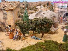 La crèche des Saintes Marie de la Mer - Santons et crèches de Provence