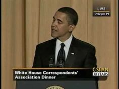 hilarity ensues - C-SPAN: President Obama at the White House Correspondents' Dinner