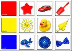 Дидактические игры и игрушки Teaching Kids Colors, Kindergarten Colors, Mickey Coloring Pages, Coloring For Kids, Color Activities, Activities For Kids, Folder Games For Toddlers, House Drawing For Kids, Sensory Activities