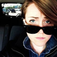 "Someone else's caption for this photo was ""Hannah Hart aka SexyMcSexy""...keeping that caption! SexyMcSexy"