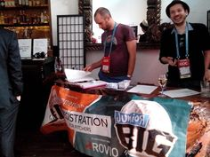 Check-In @Jr.Big Pitch, GDC SF 2014
