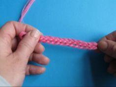 Вязание крючком - Урок 31 Двойная цепочка