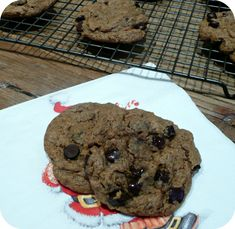 Biscuits avoine, noisettes, chocolat (IG bas)