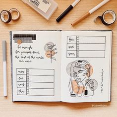 Spice up your 2020 weekly spreads with these creative spread ideas! Choose from several designs that are perfect for students and bujo beginners. Bullet Journal Notebook, Bullet Journal Spread, Bullet Journal Inspiration, Types Of Bullet Journals, Bullet Journal Weekly Layout, Life Journal, Weekly Log, Bullet Journal Aesthetic, Creative Journal