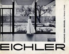 Eichler homes sales brochure for Rancho San Miguel in Walnut Creek, California.