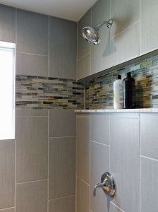 Wall pattern is called Third Stagger (recommended 33% overlap for these large format tile)