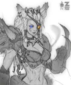 Human Female Rengar Fan Art by Zeronis.deviantart.com on @deviantART