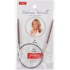 Deborah Norville Fixed Circular Needles 32in Size 0 (2mm)
