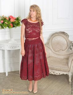 Embroidery Patterns, Crochet Patterns, Ethnic Fashion, Womens Fashion, Fillet Crochet, Bridesmaid Dresses, Wedding Dresses, Crochet Stitches, Dress Patterns