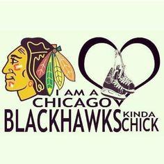 BlackHawks girl - for sure! Go Hawks!