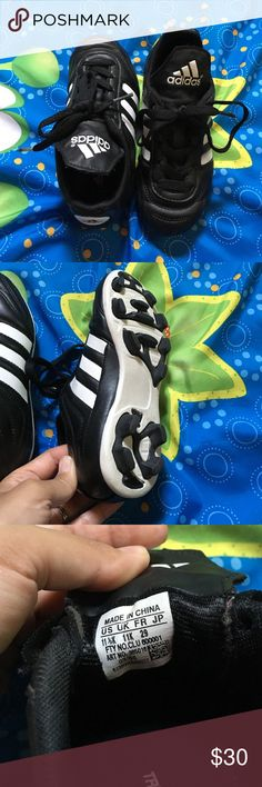 Adidas soccer cleats Toddler boy soccer shoes, in great condition! Adidas Shoes Sneakers
