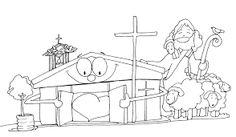 Resultado de imagen para dibujos de buen pastor misionero en imagenes de fano