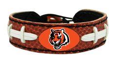 Cincinnati Bengals Classic Football Bracelet