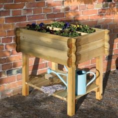 This Grange Table Trough is another great option for growing herbs in a small garden or courtyard and the raised height is kinder on your back! #GrowYourOwnFood
