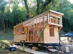 Tiny House Trailers, Tiny House Shells and Tiny House Plans From The Ultimate Resource For all Things Tiny House Related. We Are The Tiny House People! Tiny House Trailer Plans, Tiny House On Wheels, Small House Plans, Tiny Home Floor Plans, Micro House Plans, Tiny Trailers, Tyni House, Tiny House Cabin, Tiny House Living
