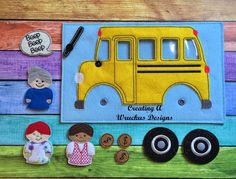 Wheels on the Bus, $8.00
