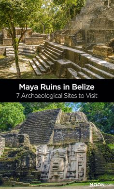 Maya Ruins in Belize: The Mundo Maya No Belize vacation is complete without a visit to the beautifully preserved ancient Maya archaeological sites. Read on to learn about each of the 7 protected Maya archaeological sites you can visit on your trip. Belize Honeymoon, Belize Vacations, Belize Travel, Belize Resorts, Mexico Travel, Belize City, Costa Rica, Places To Travel, Places To See