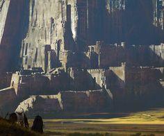 Giant castle | happy new year! by paooo.deviantart.com on @DeviantArt