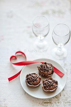 Chocolate Tartlets by aisha.yusaf