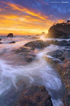 Sunrise, Coast of Port Macquarie, New South Wales Australia