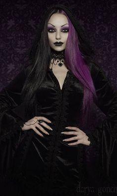Darya Goncharova #GothicBeauty