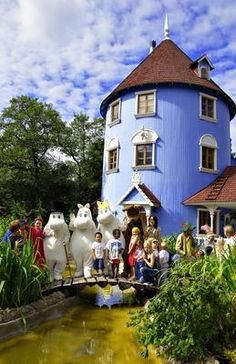 Moomin World in Naanatali, Finland. Re-pinned by #Europass