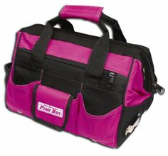 16 Inch Pink Softsided Tool Bag - California Jeep Authority - Jeep Gifts, Shirts, Toys and Accessories