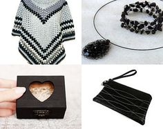 2333 - It is Black and White  by Shelley on Etsy--Pinned+with+TreasuryPin.com