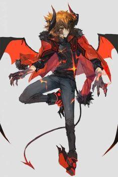 55 Best Ideas For Concept Art Characters Guys Rpg Boy Character, Fantasy Character Design, Character Design Inspiration, Character Concept, Concept Art, Anime Demon, Kawaii Anime, Manga Anime, Anime Art