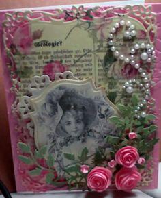 Birthday card for a dear friend by Cara Beck