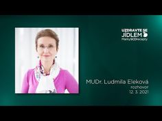 MUDr. Ludmila Eleková - rozhovor o po-covidové rekonvalescenci, prevenci a dalších otázkách - YouTube Youtube, Youtubers, Youtube Movies