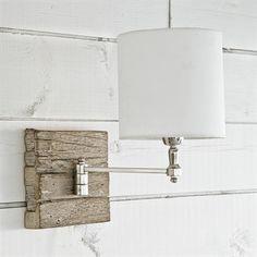 Regina Andrew Design 15-1006 Swing Arm Pinup Sconce #lighting #catskillfarms