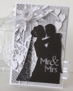 Mr & Mrs silhouette