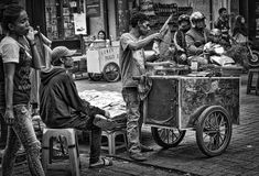 Sate Seller by ZY Sjahrial