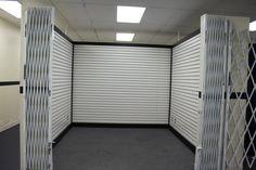 slat wall kiosks rent for $125/wk plus $100 deposit