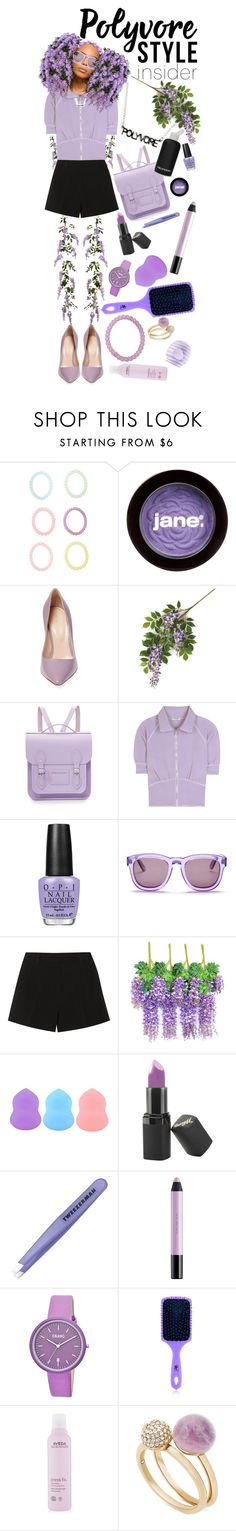 """""""Wisteria Hysteria"""" by rachael-aislynn ❤ liked on Polyvore featuring Monsoon, jane, Sergio Rossi, The Cambridge Satchel Company, bkr, Miu Miu, OPI, Wildfox, Emilio Pucci and Zodaca"""