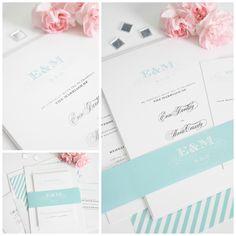Aquamarine Wedding Inspiration | Wedding Invitations