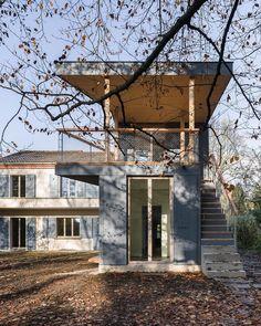 Jaeger Koechlin . Friedli house extension .  Bern  (2)