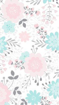 Frühling Wallpaper, Flower Background Wallpaper, Flower Phone Wallpaper, Spring Wallpaper, Cute Wallpaper Backgrounds, Wallpaper Iphone Cute, Tumblr Wallpaper, Flower Backgrounds, Pattern Wallpaper