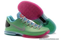 Men's Mint Nike KD V Elite
