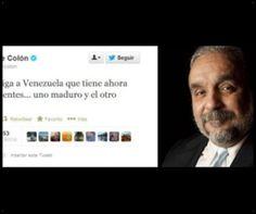 """""""DIOS BENDIGA A VENEZUELA QUE TIENE AHORA DOS PRESIDENTES... UNO MADURO Y EL OTRO PODRIDO"""", Willie Colón"""