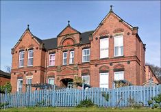 Longton Cottage Hospital - view from Ramage Grove