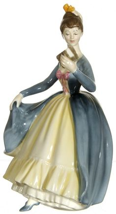 "8"" ROYAL DOULTON ""LEADING LADY"" FIGURINE : Lot 22"