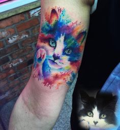 24 Beautiful Cat Tattoos To Inspire Your Next Ink Session | iHeartCats.com - All Cats Matter ™