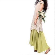 TS Vintage/Sexy/Casual/Cute/Work/Maxi Micro-elastic Sleeveless Maxi Dress (Linen) 3944073 2016 – $27.99
